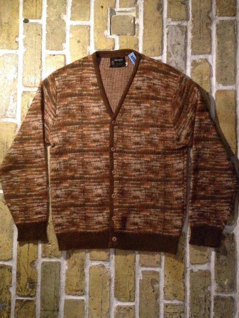 神戸店9/7(水)秋冬ヴィンテージ入荷!#3 Vintage Mohair Cardigan!!! _c0078587_1615199.jpg