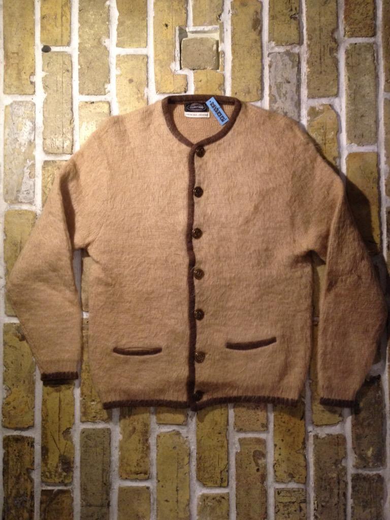神戸店9/7(水)秋冬ヴィンテージ入荷!#3 Vintage Mohair Cardigan!!! _c0078587_16193349.jpg