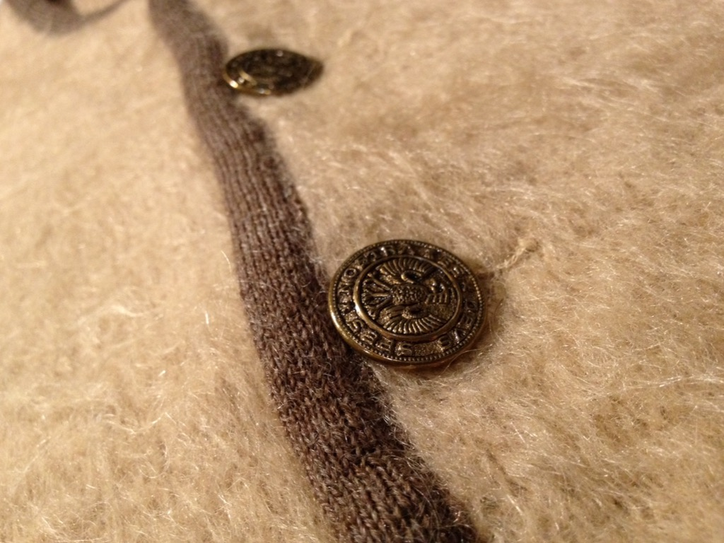 神戸店9/7(水)秋冬ヴィンテージ入荷!#3 Vintage Mohair Cardigan!!! _c0078587_16194830.jpg