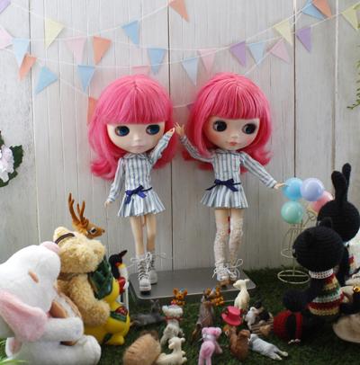 新衣装はリカちゃんキャッスルのワンピ & コメ返し_a0275527_23071870.jpg