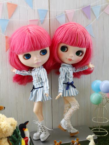 新衣装はリカちゃんキャッスルのワンピ & コメ返し_a0275527_23072672.jpg