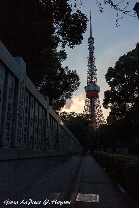 東京の風景 夕暮れの東京タワー_b0133053_00084232.jpg