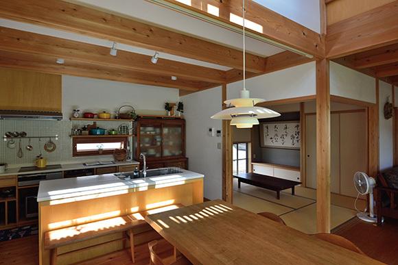 築7年目の木の家見学会 「通り庭に薪ストーブのある家」_e0164563_15025150.jpg