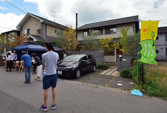 築7年目の木の家見学会 「通り庭に薪ストーブのある家」_e0164563_15141105.jpg