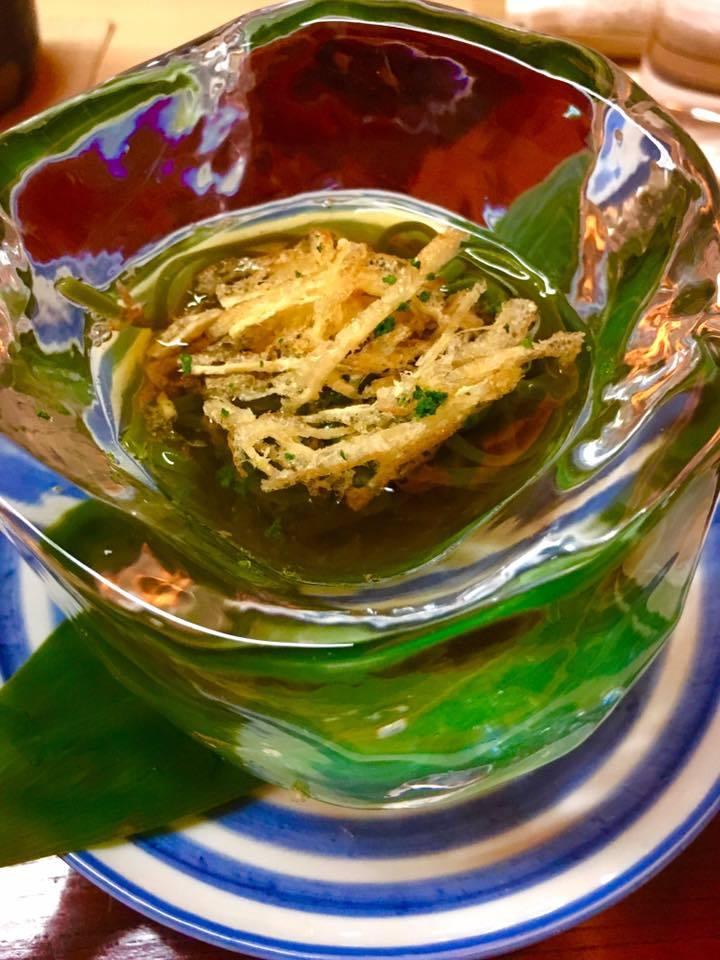 ミシュラン三つ星☆日本料理「松川」に美味礼賛🎵_a0138976_16070029.jpg