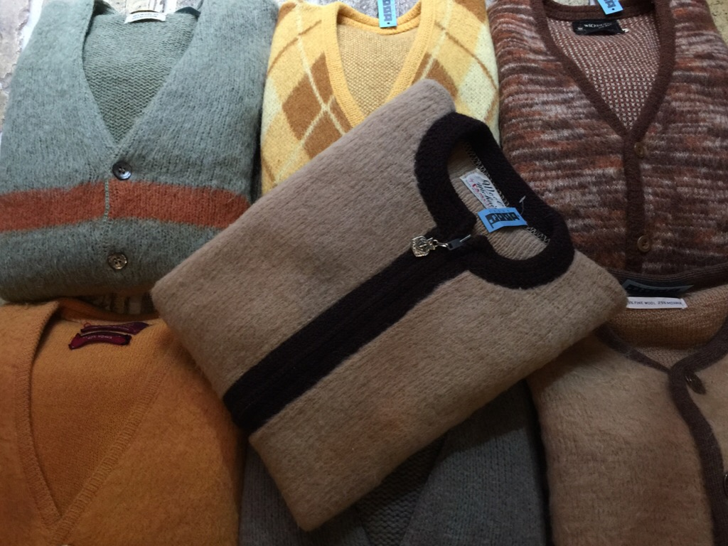 神戸店9/7(水)秋冬ヴィンテージ入荷!#3 Vintage Mohair Cardigan!!! _c0078587_15402615.jpg