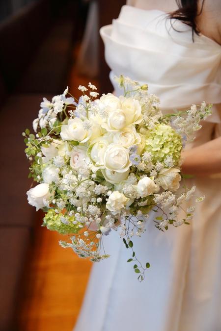 新郎新婦様からのメール ブラッスリー ポール・ボキューズ銀座の花嫁様より 台風の日に_a0042928_1963796.jpg