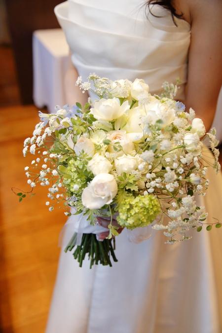 新郎新婦様からのメール ブラッスリー ポール・ボキューズ銀座の花嫁様より 台風の日に_a0042928_1982542.jpg