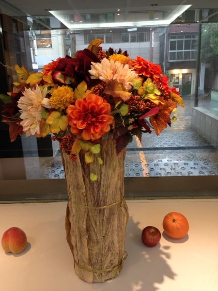 秋のディスプレイ〜キノコからインスピレーション_f0155431_21441895.jpeg