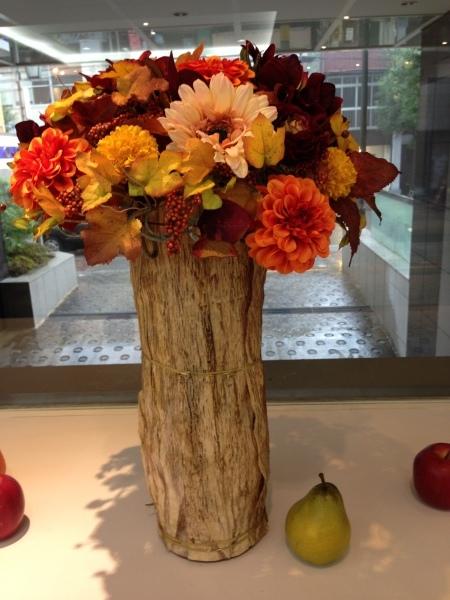 秋のディスプレイ〜キノコからインスピレーション_f0155431_21450142.jpeg