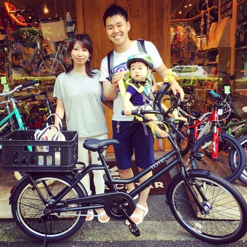 『バイシクルファミリー』bikke2e Yepp ビッケ トート EZ ハイディ ステップクルーズ 電動自転車 カスタム_b0212032_1651629.jpg
