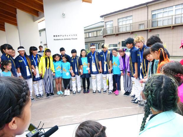 「ねま~るdeオド~ル」野田まつりde踊ったのだ♪♪_c0259934_10074550.jpg