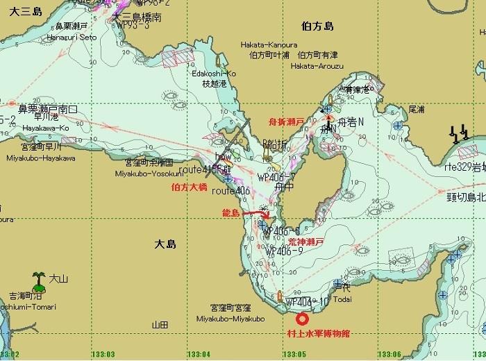 2016.08.05 しまなみ海道瀬戸巡り④荒神瀬戸(能島、宮窪漁港、水軍 ...