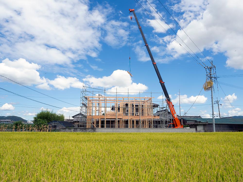 田園を望むゆとりの木造2階建て住宅─その1─_a0163962_6175071.jpg