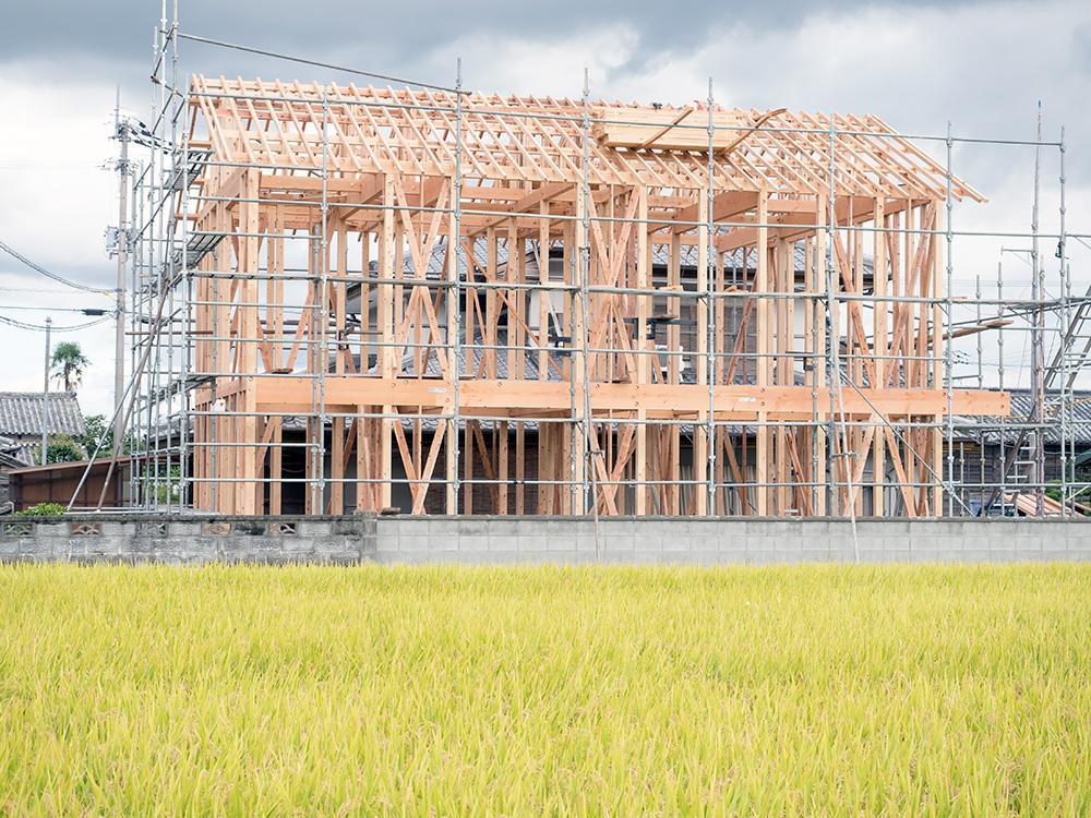 田園を望むゆとりの木造2階建て住宅─その1─_a0163962_6175131.jpg