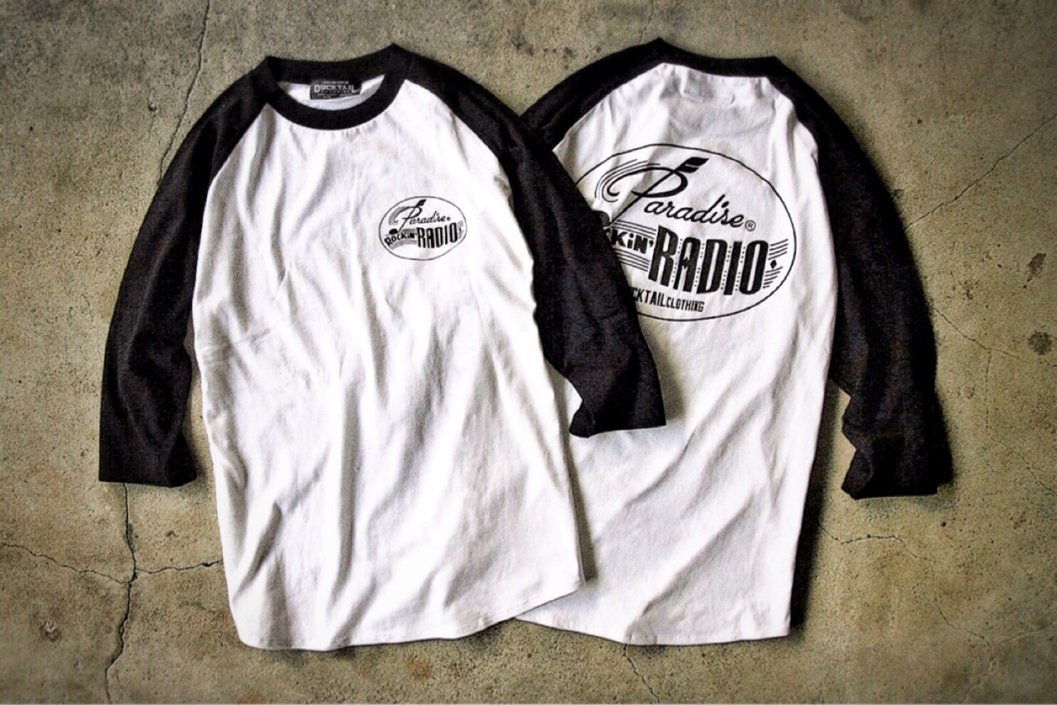 "DUCKTAIL CLOTHING ""PARADISE ROCKIN\' RADIO\"" 全サイズ再入荷_c0187573_21224197.jpg"