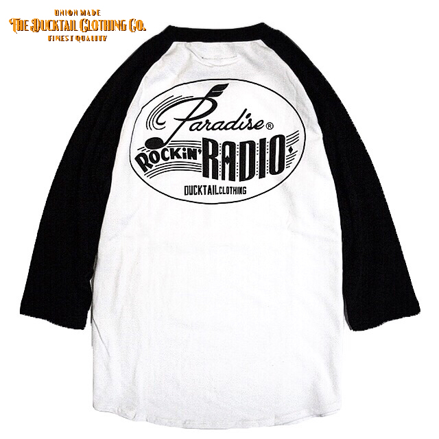 "DUCKTAIL CLOTHING ""PARADISE ROCKIN\' RADIO\"" 全サイズ再入荷_c0187573_2122496.jpg"