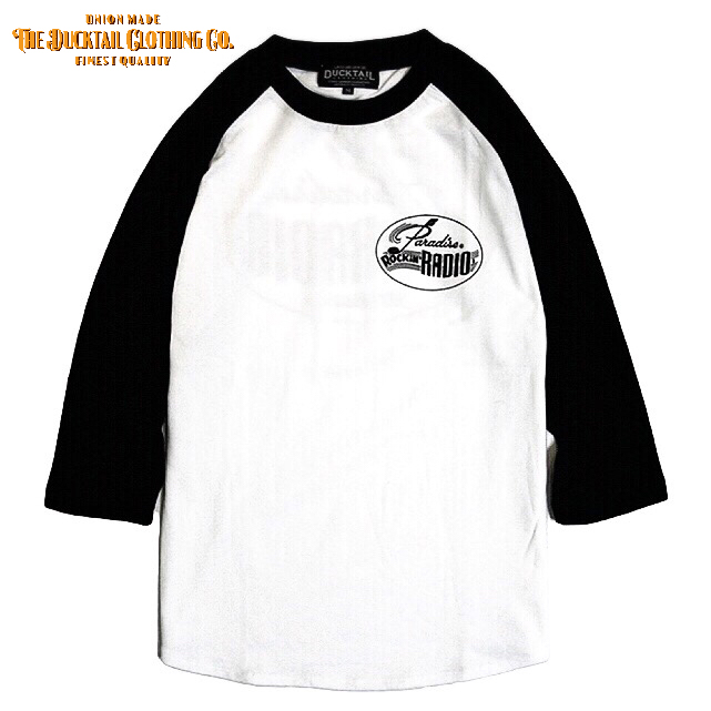 "DUCKTAIL CLOTHING ""PARADISE ROCKIN\' RADIO\"" 全サイズ再入荷_c0187573_21231051.jpg"