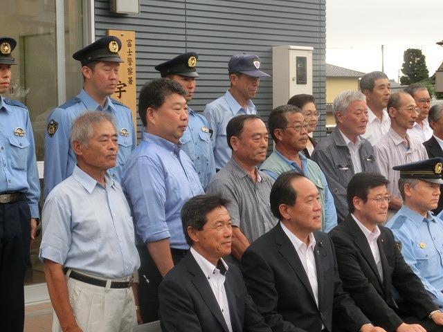今泉・原田地区の安全・安心の新たな拠点 「宇東川交番」が竣工し業務開始_f0141310_863864.jpg