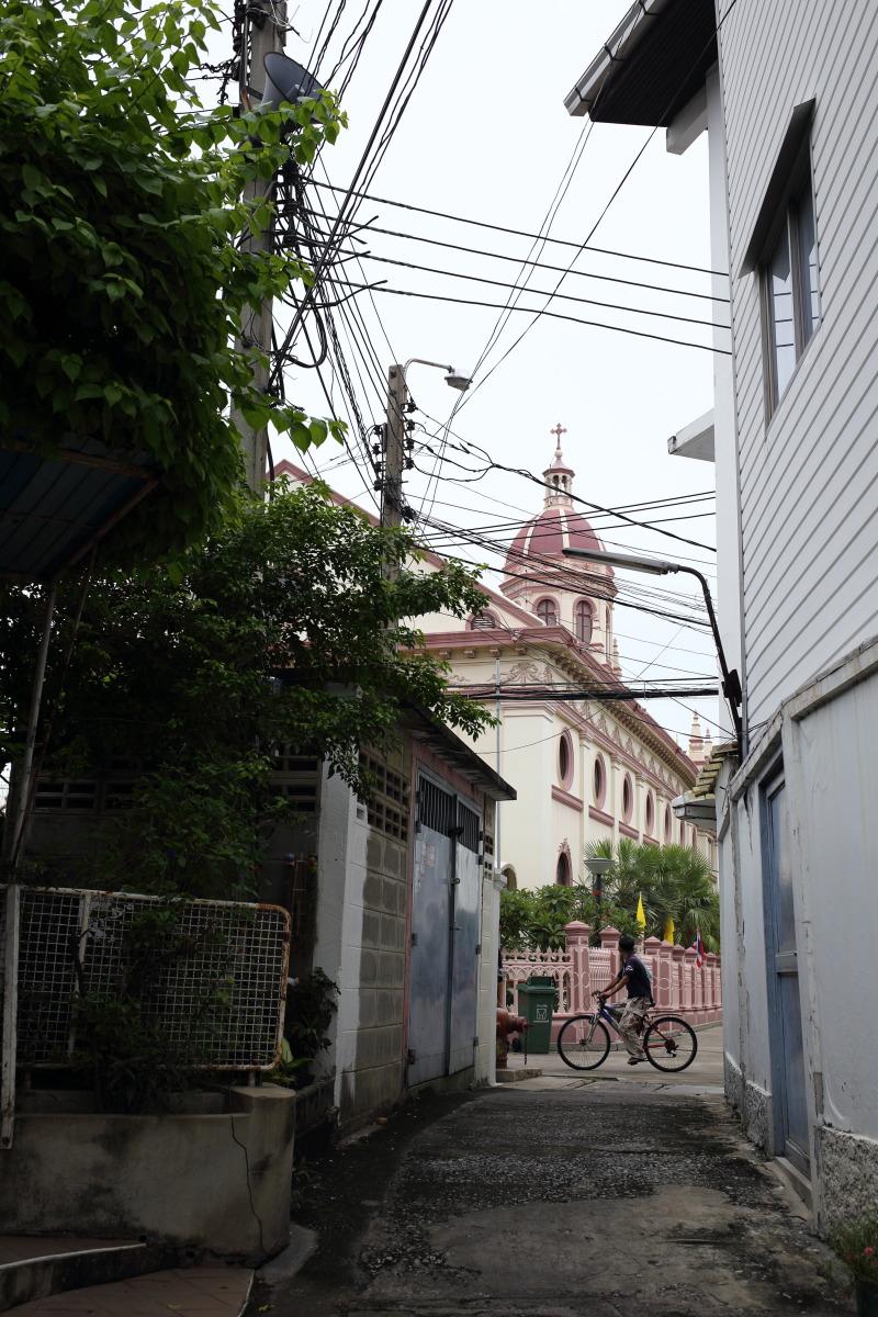 バンコク  サンタクルス教会、ポルトガル人集落の痕跡_b0061717_23554457.jpg