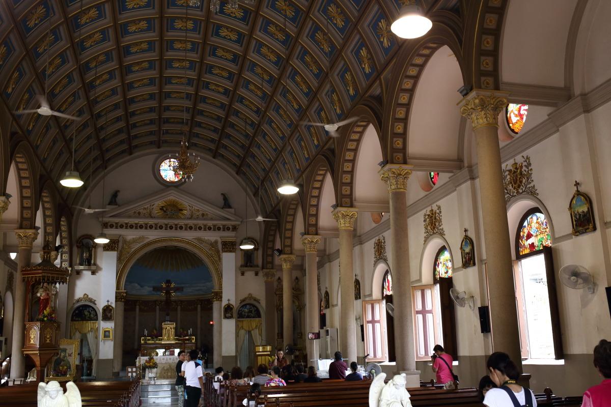 バンコク  サンタクルス教会、ポルトガル人集落の痕跡_b0061717_23555117.jpg