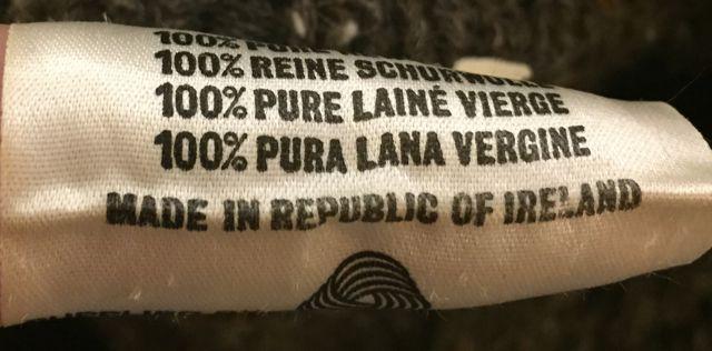 アメリカ仕入れ情報#3 アイルランド製 wool カーディガン!_c0144020_11481297.jpg