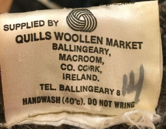 アメリカ仕入れ情報#3 アイルランド製 wool カーディガン!_c0144020_11481338.jpg