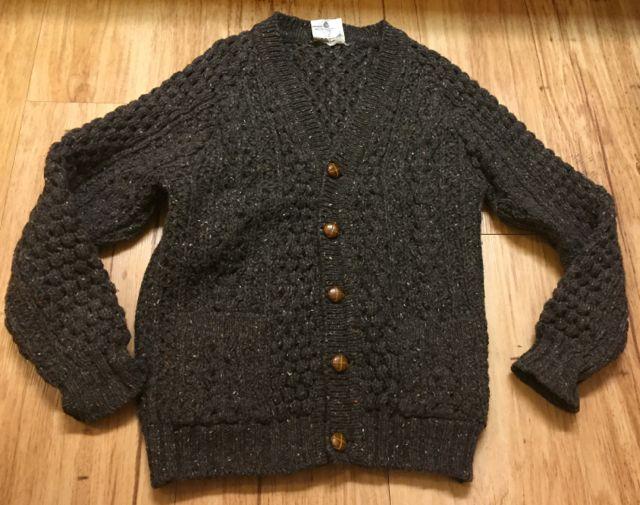 アメリカ仕入れ情報#3 アイルランド製 wool カーディガン!_c0144020_11483686.jpg