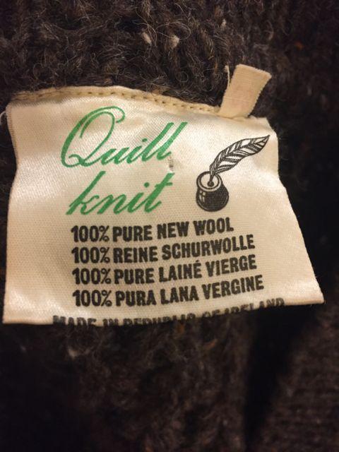 アメリカ仕入れ情報#3 アイルランド製 wool カーディガン!_c0144020_1148879.jpg