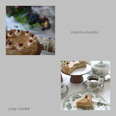 素朴な木の実のケーキ「ヘーゼルナッツケーキ」_a0169924_18095739.jpg