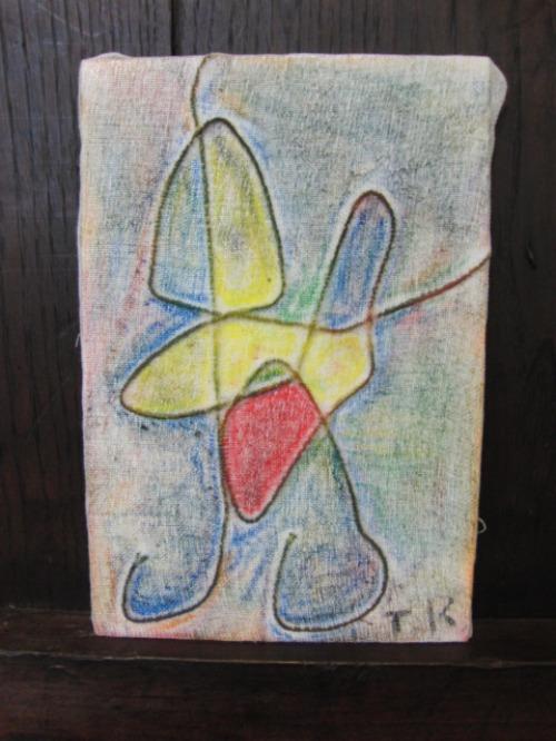 オイルパステル画 ~ アナログフロッタージュ ~_e0222340_1727369.jpg