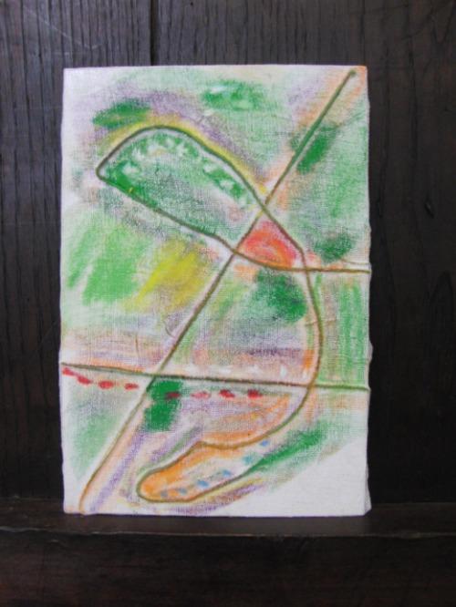 オイルパステル画 ~ アナログフロッタージュ ~_e0222340_17283766.jpg
