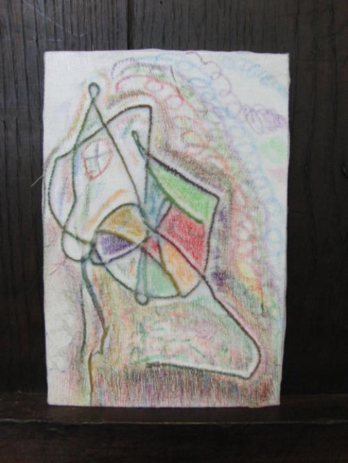 オイルパステル画 ~ アナログフロッタージュ ~_e0222340_1729098.jpg