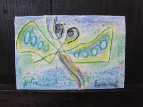 オイルパステル画 ~ アナログフロッタージュ ~_e0222340_17304282.jpg