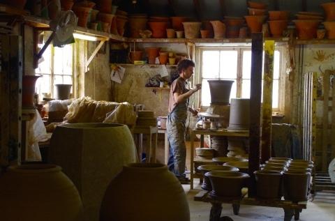 第3回イギリスの旅  〜英国を代表するフラワーポットWhichford potteryの魅力〜_d0229351_19054177.jpg