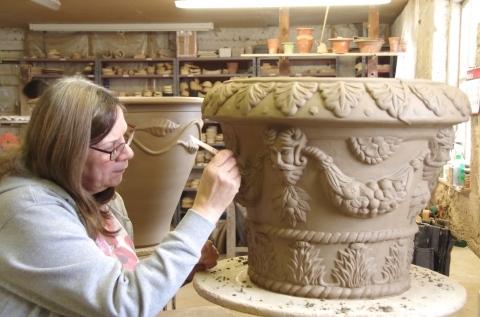 第3回イギリスの旅  〜英国を代表するフラワーポットWhichford potteryの魅力〜_d0229351_19055351.jpg