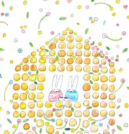 安福 望 原画展 「食器と食パンとペン  +あるふぁ」_d0268070_23002595.jpg