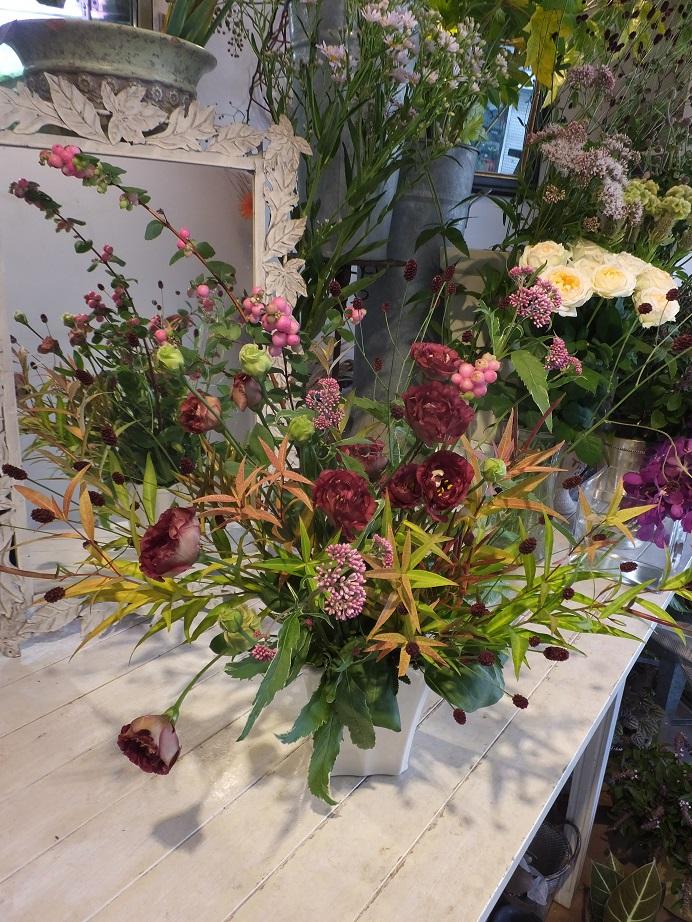オークリーフ花の教室(甘艸さんと大草さんの作品)_f0049672_1851496.jpg
