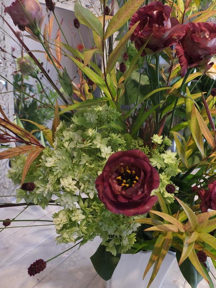 オークリーフ花の教室(甘艸さんと大草さんの作品)_f0049672_1871475.jpg