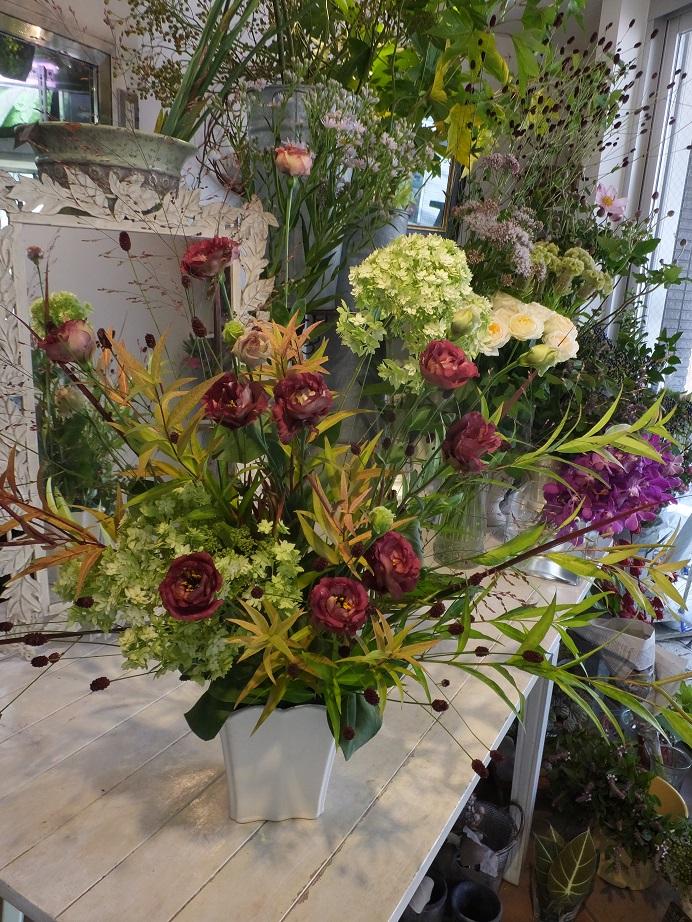 オークリーフ花の教室(甘艸さんと大草さんの作品)_f0049672_1894422.jpg