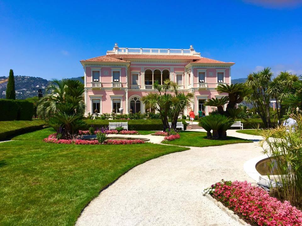 南仏の旅2016~南仏のロスチャイルド邸(Villa Ephrussi de Rothschild)_a0138976_17354636.jpg