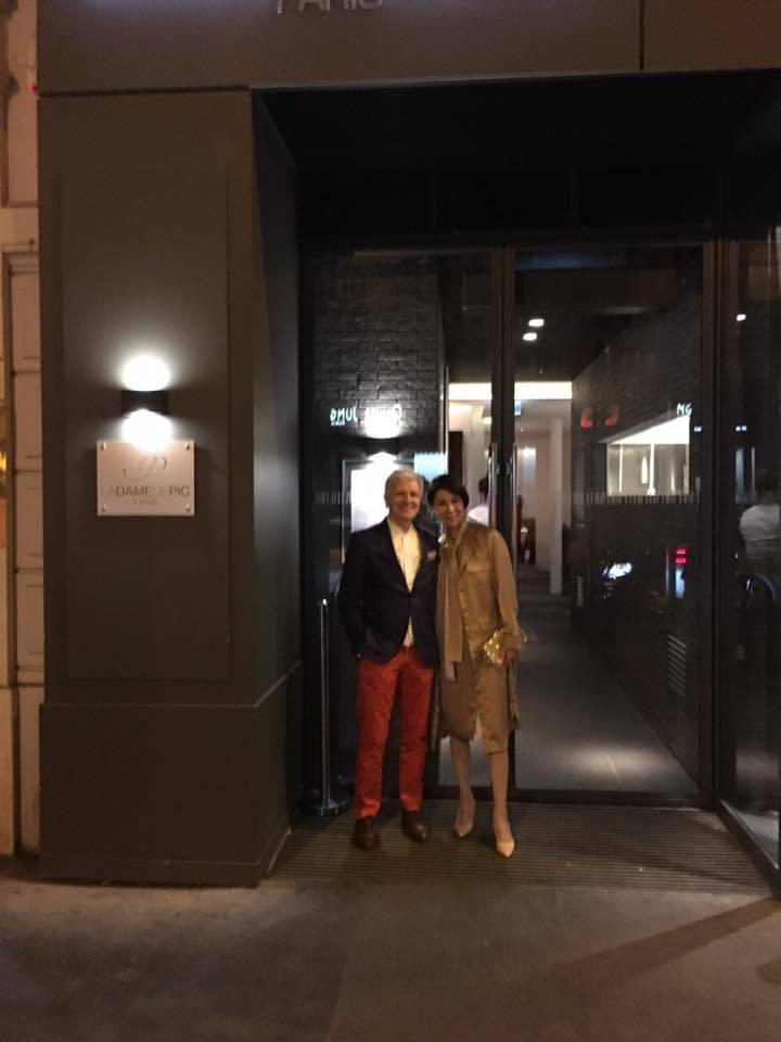 """南仏の旅2016~パリのディナーat \""""La Dame de Pic\"""" _a0138976_17451894.jpg"""
