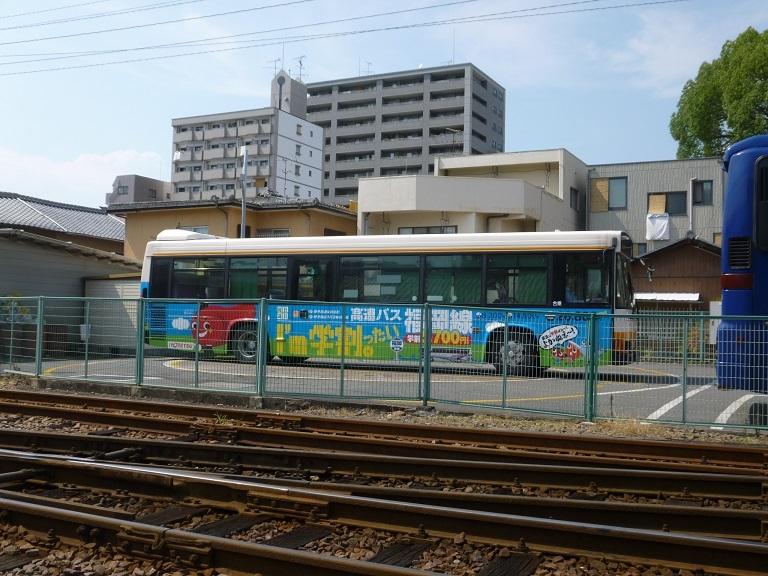 ○バスの転車台_f0111289_06551145.jpg