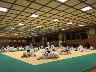 東福岡柔道教室の皆さんお世話になります☆_b0172494_20194264.jpg