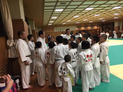 東福岡柔道教室の皆さんお世話になります☆_b0172494_23132428.jpg