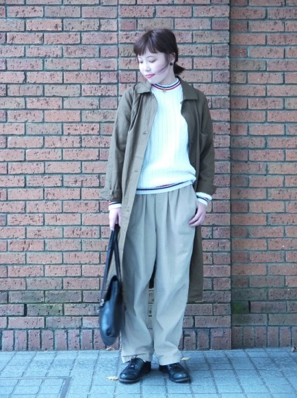 london girl & parisienne〜work coat〜_f0335217_18041332.jpg