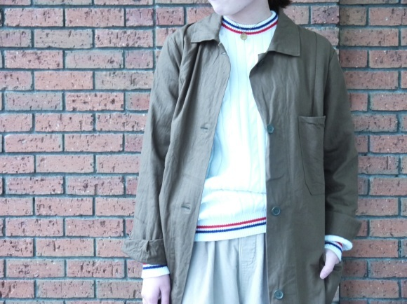 london girl & parisienne〜work coat〜_f0335217_18045150.jpg