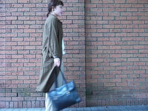 london girl & parisienne〜work coat〜_f0335217_18053328.jpg