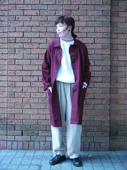 london girl & parisienne〜work coat〜_f0335217_18061825.jpg