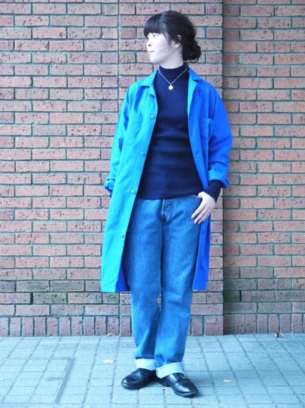 london girl & parisienne〜work coat〜_f0335217_18124742.jpg